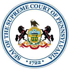 Seal of the Supreme Court of Pennsylvania